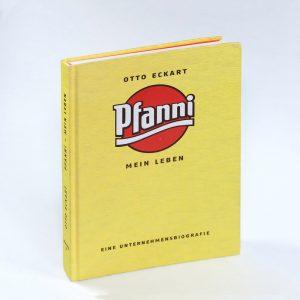 Otto Eckart Pfanni Mein Leben Unternehmensbiografie Cover 01