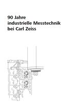 90 Jahre industrielle Messtechnik bei Carl Zeiss Cover