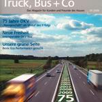 """Kundenzeitschrift """"Truck, Bus + Co"""" 01.2009 von DKV Euro Service"""