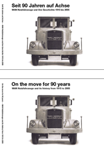 90 Jahre MAN Nutzfahrzeuge