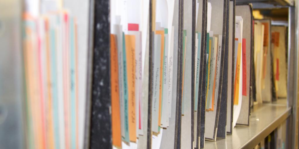 Ungeordnete Archivablage