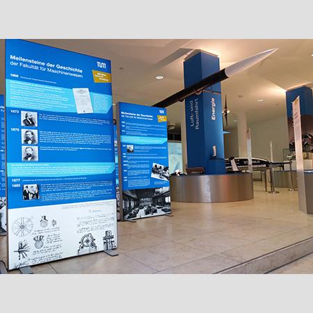 Ausstellung 150 Jahre Maschinenwesen TUM