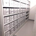 Professionell aufgeräumtes Archiv