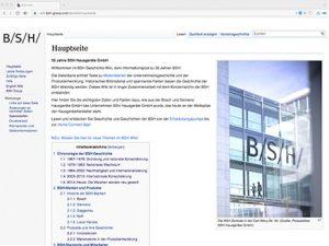 BSH-Wiki Startseite