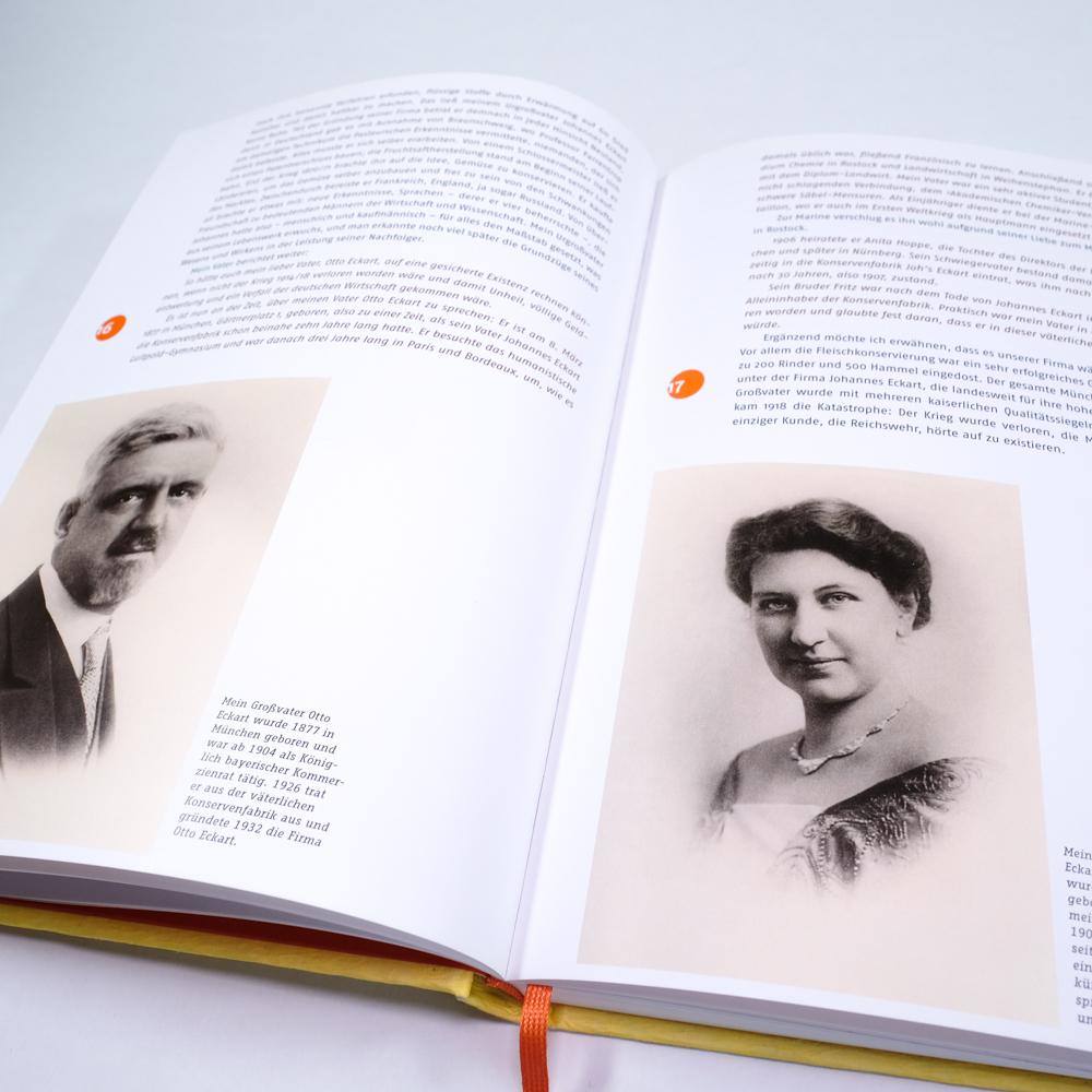 Otto Eckart Pfanni Mein Leben Unternehmensbiografie