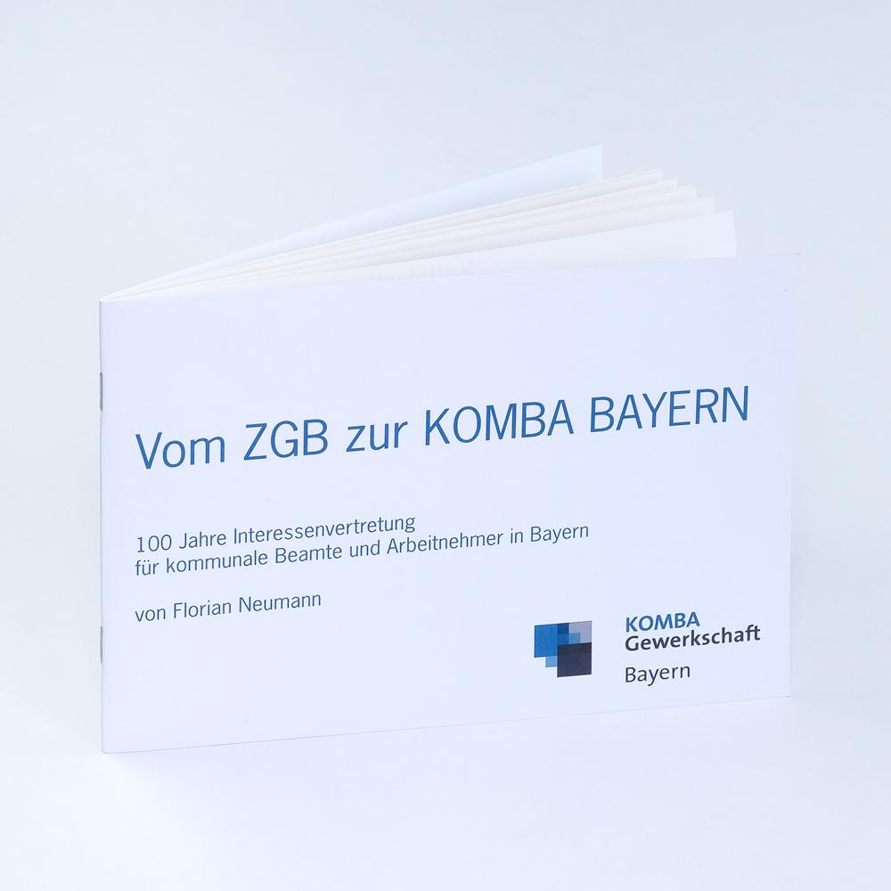 Vom ZGB zur KOMBA Bayern. 100 Jahre Interessenvertretung für kommunale Beamte und Arbeitnehmer in Bayern