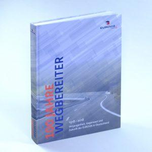 Unternehmensgeschichte 100 jahre Wegbereiter, eurovia, cover