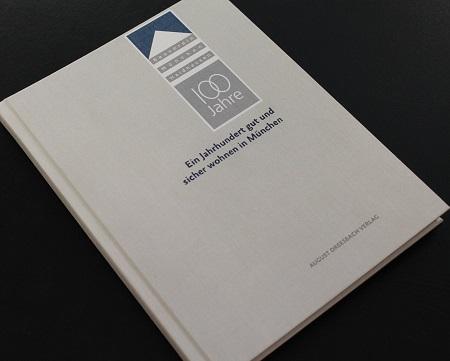 Bild zeigt: Bauverein München-Haidhausen 100 Jahre Buch Cover