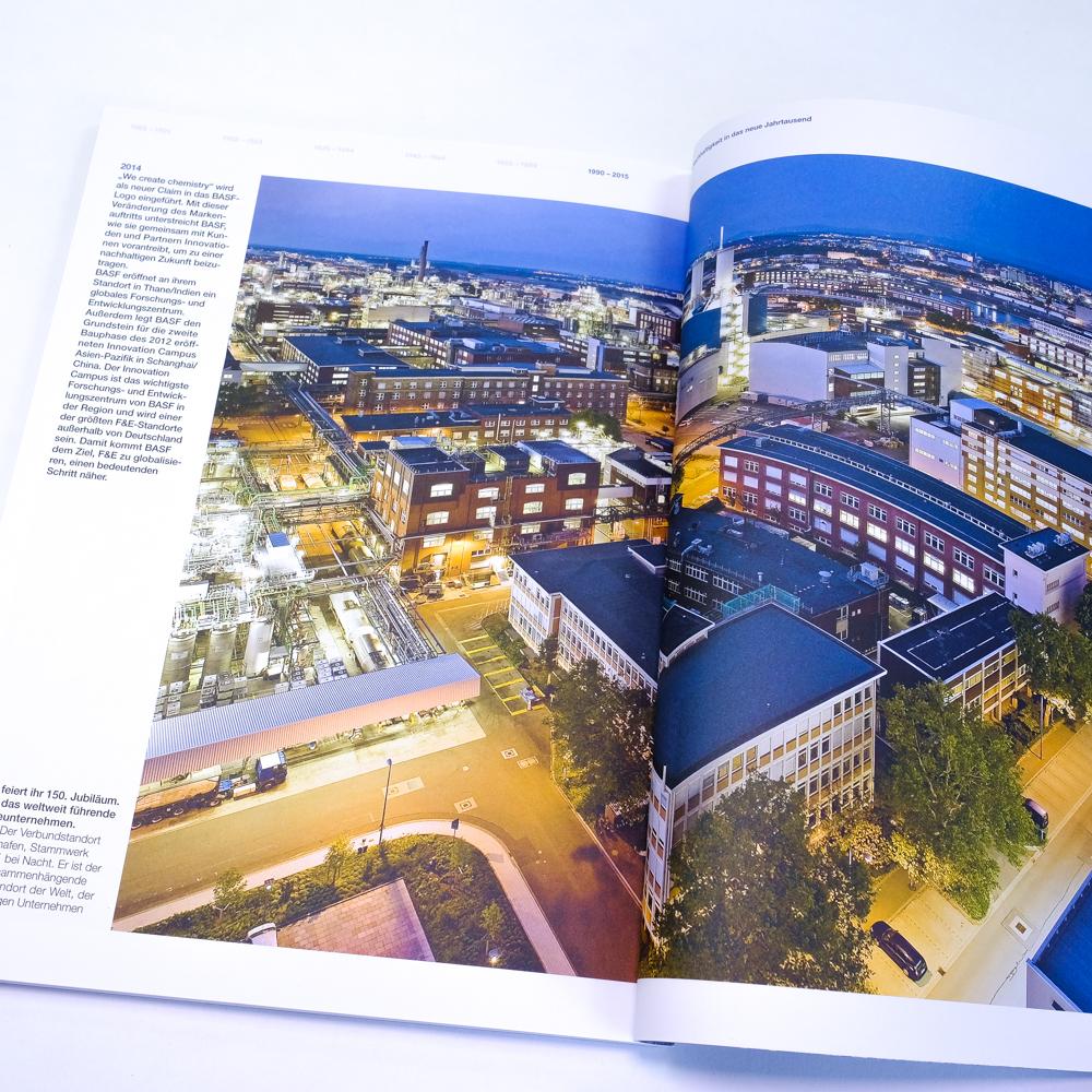 150 Jahre BASF Unternehmensjubilaeum Jubilaeumsbroschuere