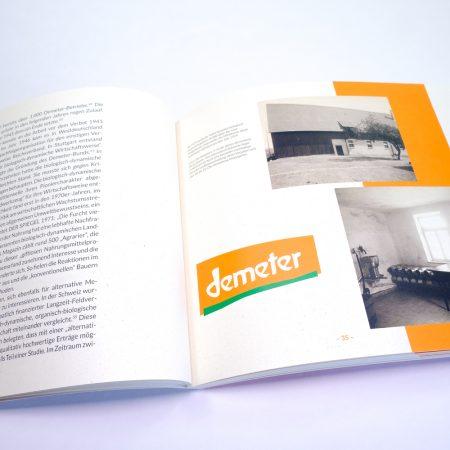 Geschichte Demeter, Hanns Voith, Heidenheim, Talhof, biologisch-dynamische Wirtschaftsweise