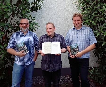 Myth Buster Robert Kieselbach, Christian Schwartz und Christoph Laugs (v. l. n. r.)