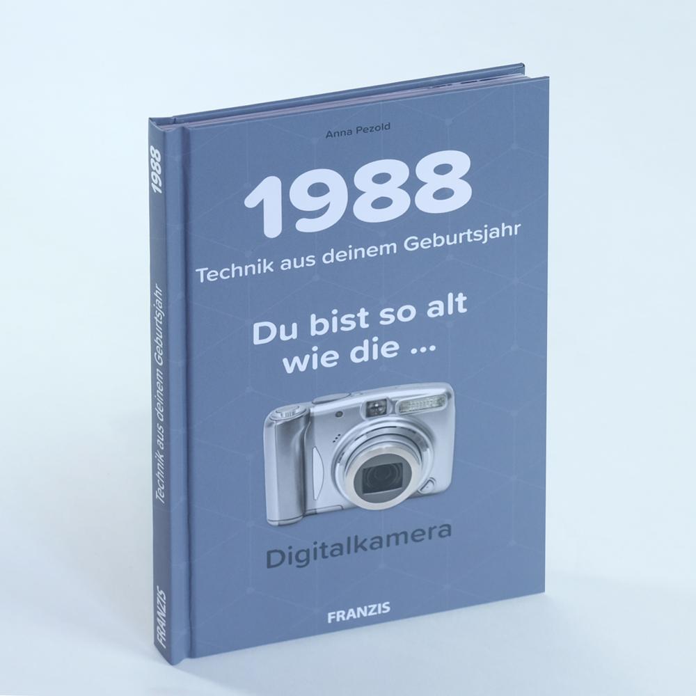 1988 Technik-Geschichte Geschenkbuch Cover